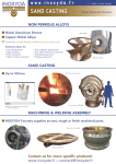 Front cover of the presentation leaflet of the Inoxyda sand casting foundry