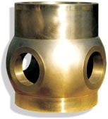Propeller hub up to 2 000 kg by sand casting